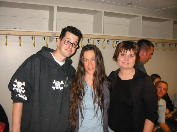 Kari, Alanis, Jon.